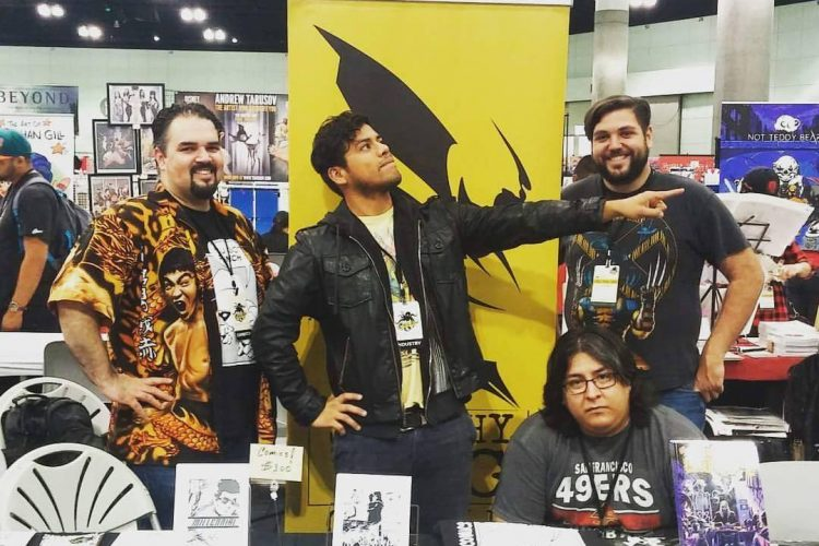 The Sketchy Bug Group at Stan Lee's Los Angeles Comic Con 2016